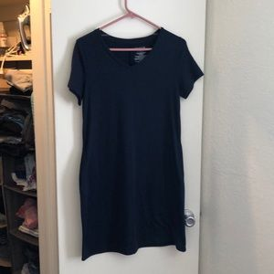 Dresses & Skirts - Blue T-shirt Dress WITH POCKETS